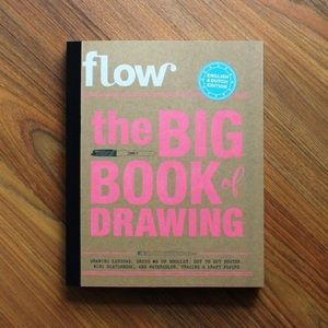 Flow the big book of drawing Brand new, empty